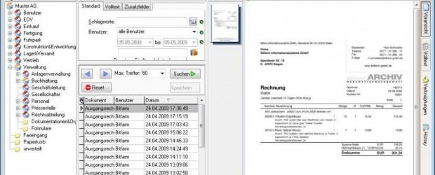 Die bitfarm GmbH aktualisiert die lizenzkostenfreie GPL-Version des Dokumentenmanagement Systems bitfarm-Archiv. Mit der neuen Integration von Open-Office 3.1 werden über 30 neue Dateiformate unterstützt, darunter auch die neuen Office-Formate docx […]