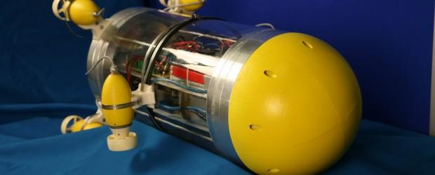 """Der Unterwasserroboter """"Snookie"""" kann sich in dunklem Gewässer mit einer Art künstlichem Seitenlinienorgan orientieren, das dem von Fischen nachempfunden ist. Entwickelt wurde das Gerät von Wissenschaftlern der Technischen Universität München […]"""