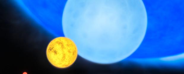 Sterne können bei ihrer Geburt doppelt so viel Masse haben, wie Astronomen bislang glaubten. Noch vor kurzem lag die akzeptierte Obergrenze für die Masse eines Sterns bei der 150-fachen Masse […]